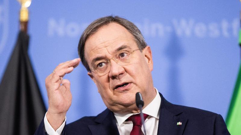 NRW-Ministerpräsident Armin Laschet (CDU). Foto: Marcel Kusch/dpa