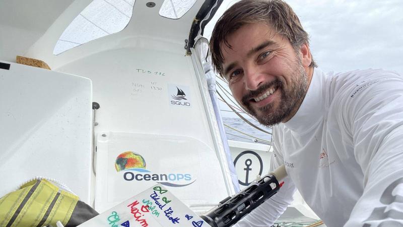 Skipper Boris Herrmann. Foto: Boris Herrmann/team-malizia.com/dpa/Archiv