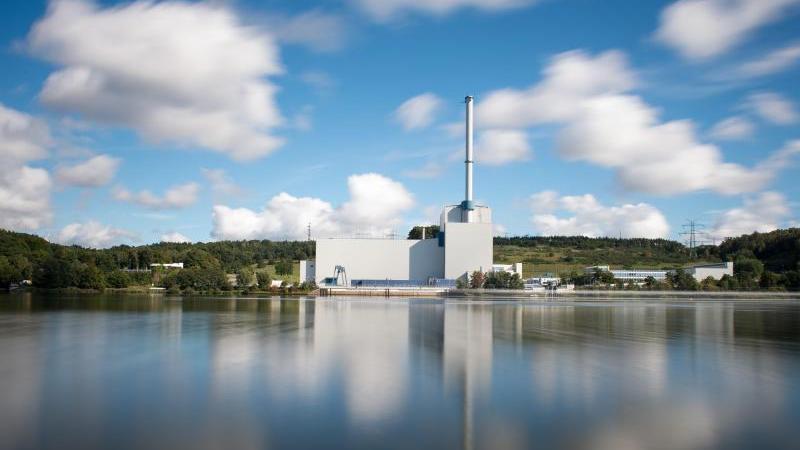 Das Kernkraftwerk Krümmel. Foto: Daniel Reinhardt/dpa/Archiv