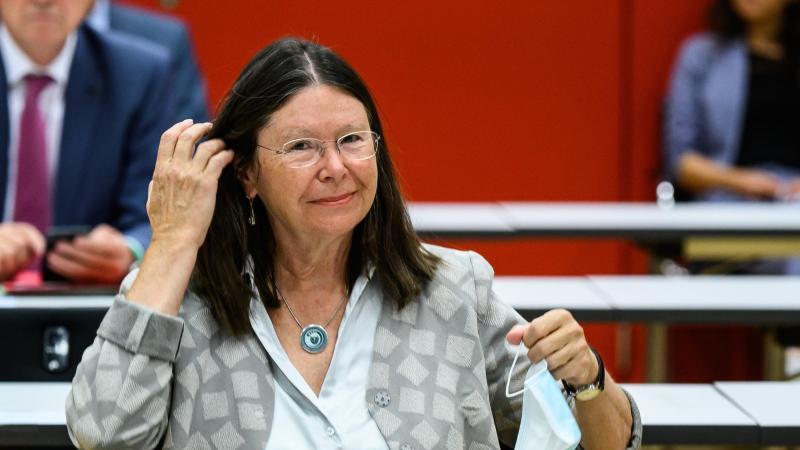 Ulrike Höfken sitzt imLandtag von Rheinland-Pfalz. Foto: Andreas Arnold/dpa/Archivbild