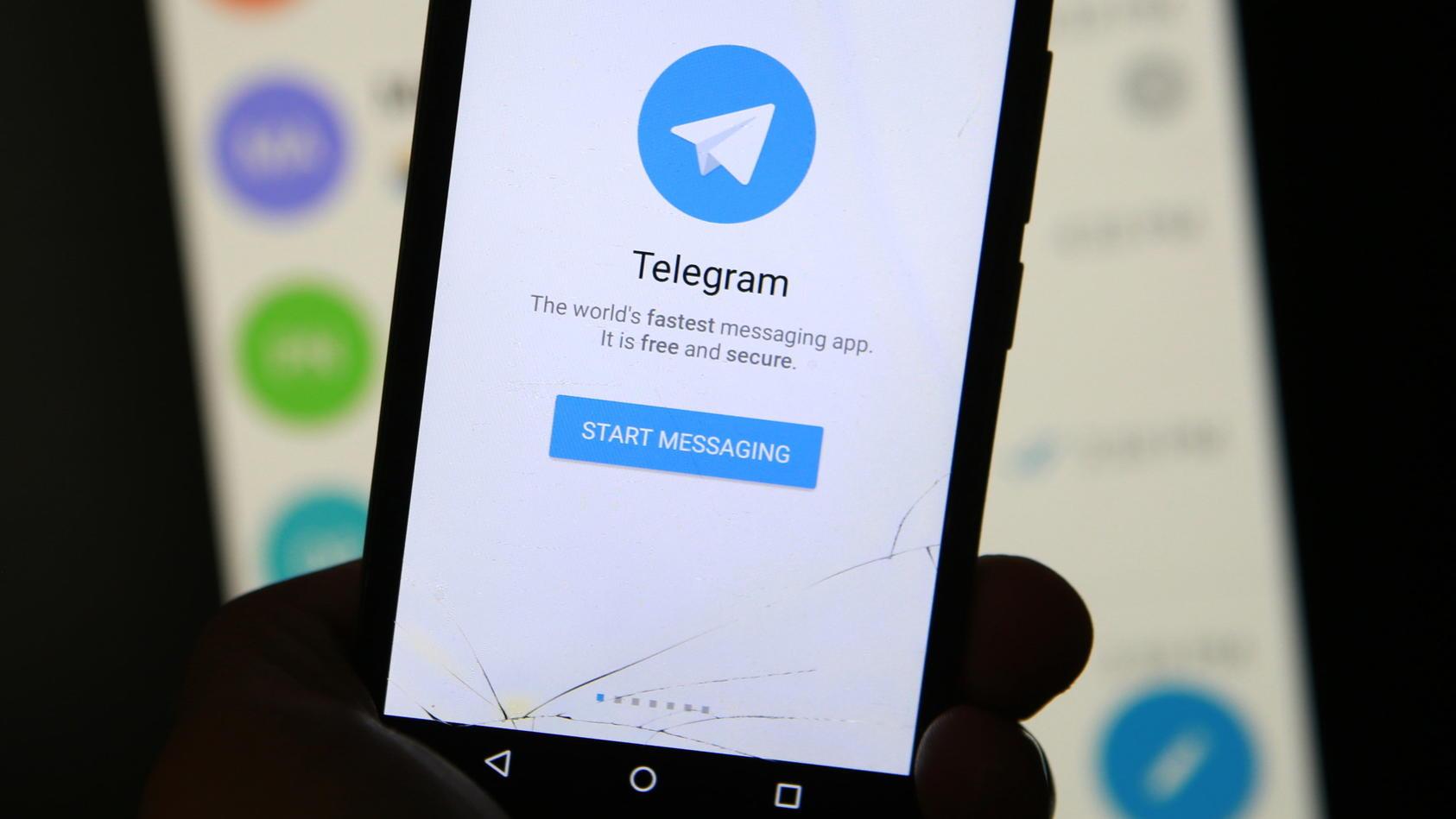 """Über den Messengerdienst """"Telegram"""" verkauften die Erpresser die pornografischen und gewaltverherrlichenden Inhalte an Tausende Kunden."""