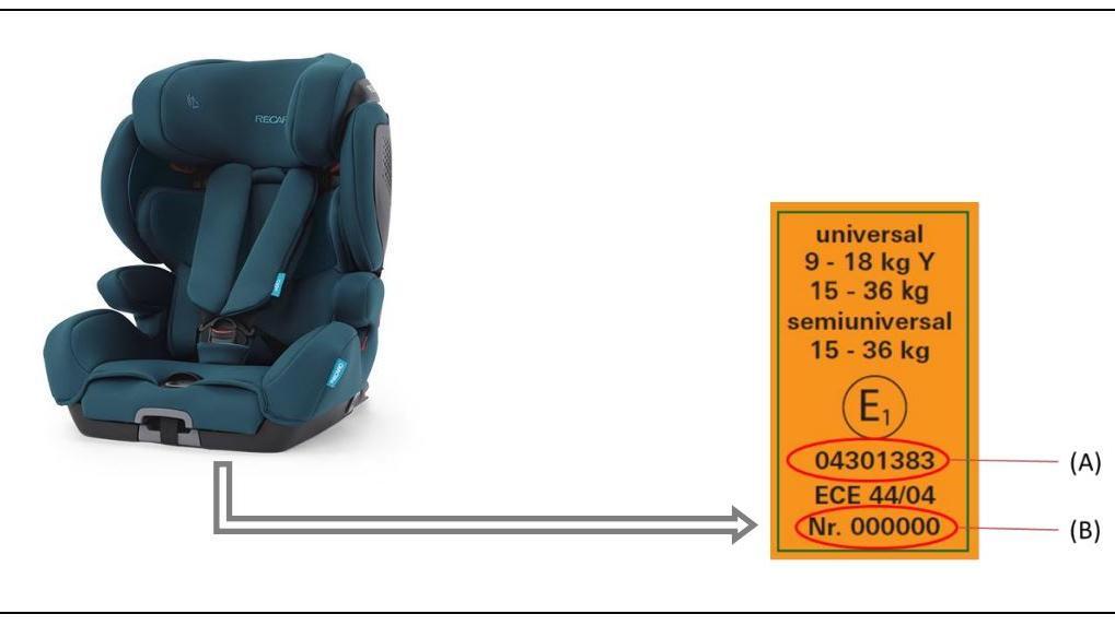 Der Sitzhersteller Recaro hat zwei Kinderautositze zurückgerufen.