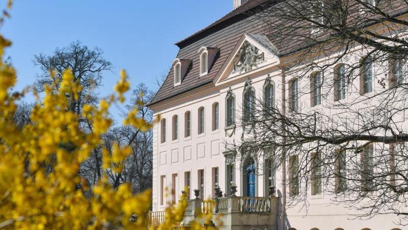 Schloss Branitz im Fürst-Pückler-Park. Foto: Patrick Pleul/dpa-Zentralbild/ZB/Archivbild