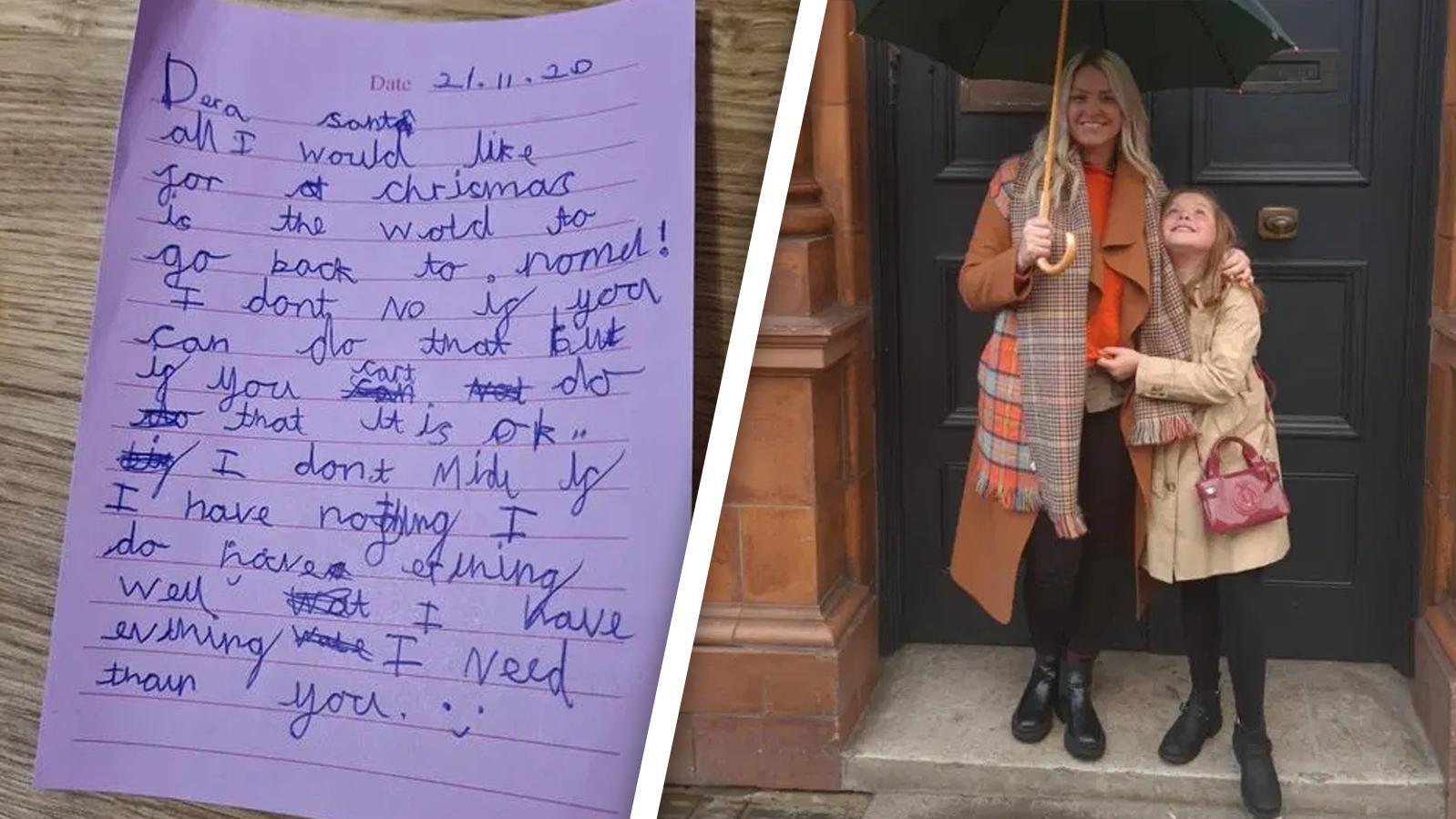 Der Brief der kleinen Kourtney ging viral.