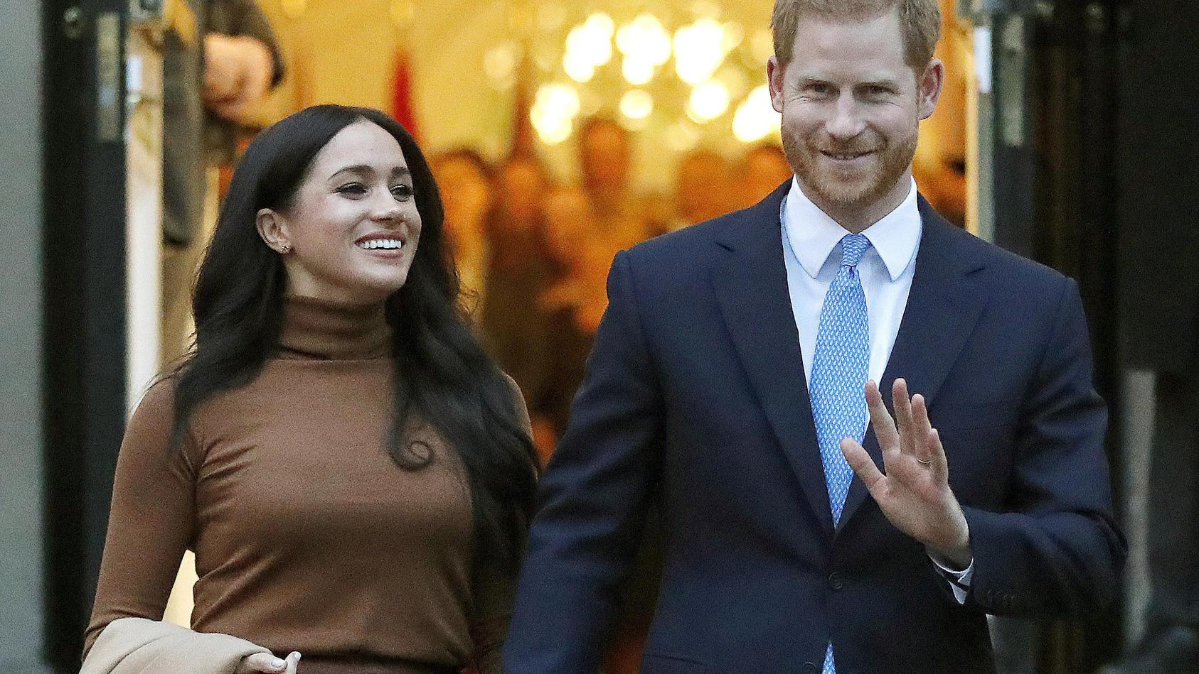 Herzogin Meghan (39) und Prinz Harry (36)  haben ihr erstes Thanksgiving-Fest in den USA gefeiert.