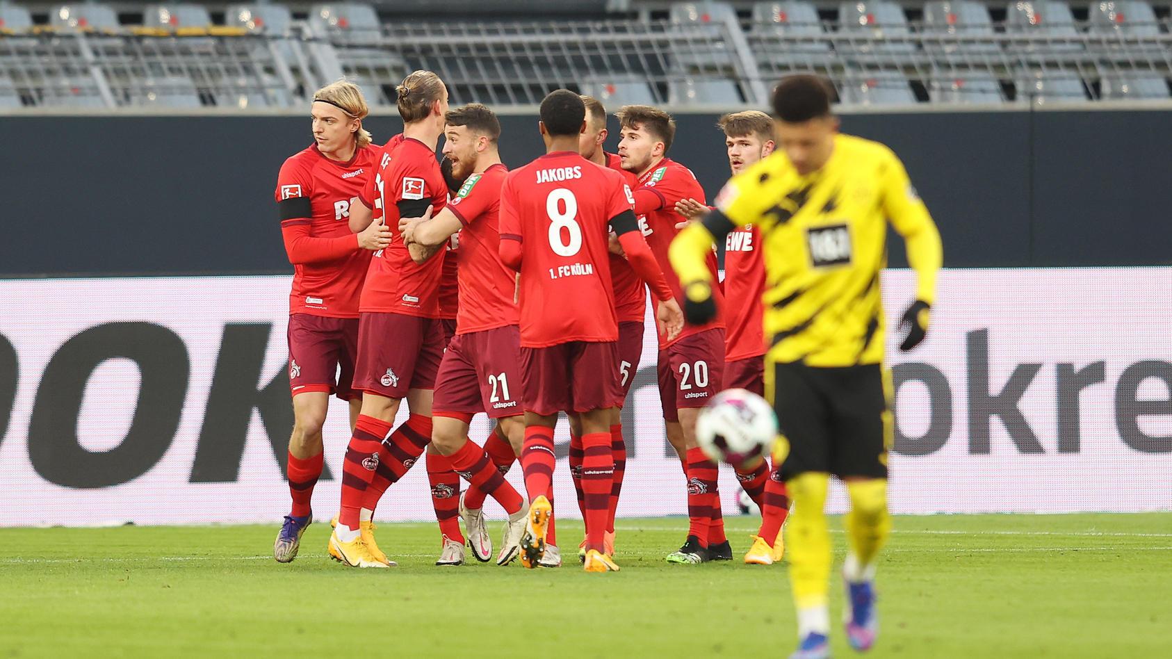 Beim BVB ging nix gegen Köln