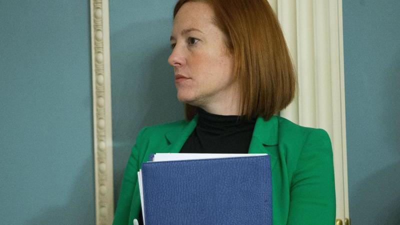 Der gewählte US-Präsident Biden will Jen Psaki als Sprecherin ins Weiße Haus holen. Foto: Pablo Martinez Monsivais/AP/dpa/Archiv