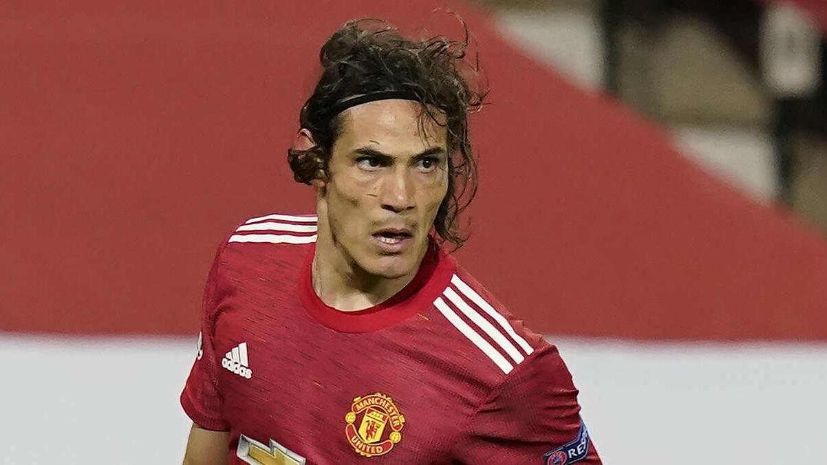 Edison Cavani spielt seit Oktober 2020 bei Manchester United.