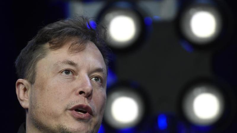 Elon Musk, Chef von Tesla. Foto: Susan Walsh/AP/dpa/Archivbild