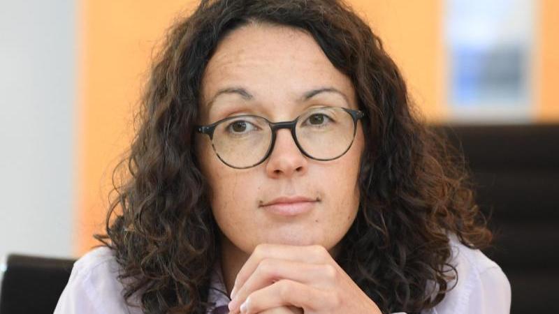 Angela Dorn (Grüne), Wissenschaftsministerin von Hessen. Foto: Arne Dedert/dpa/Archiv