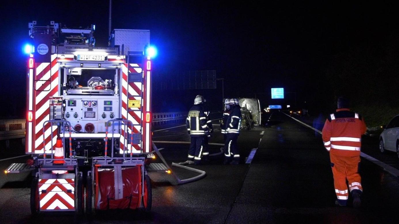 Unfall auf A66