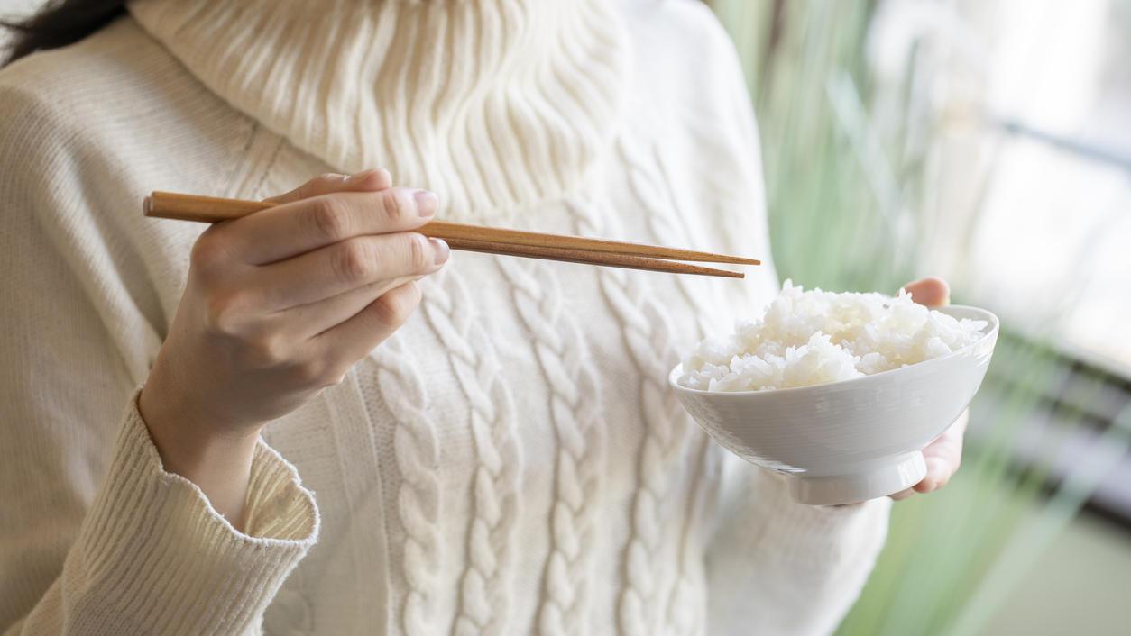 Weißer Reis beeinflusst Blutzuckerspiegel.
