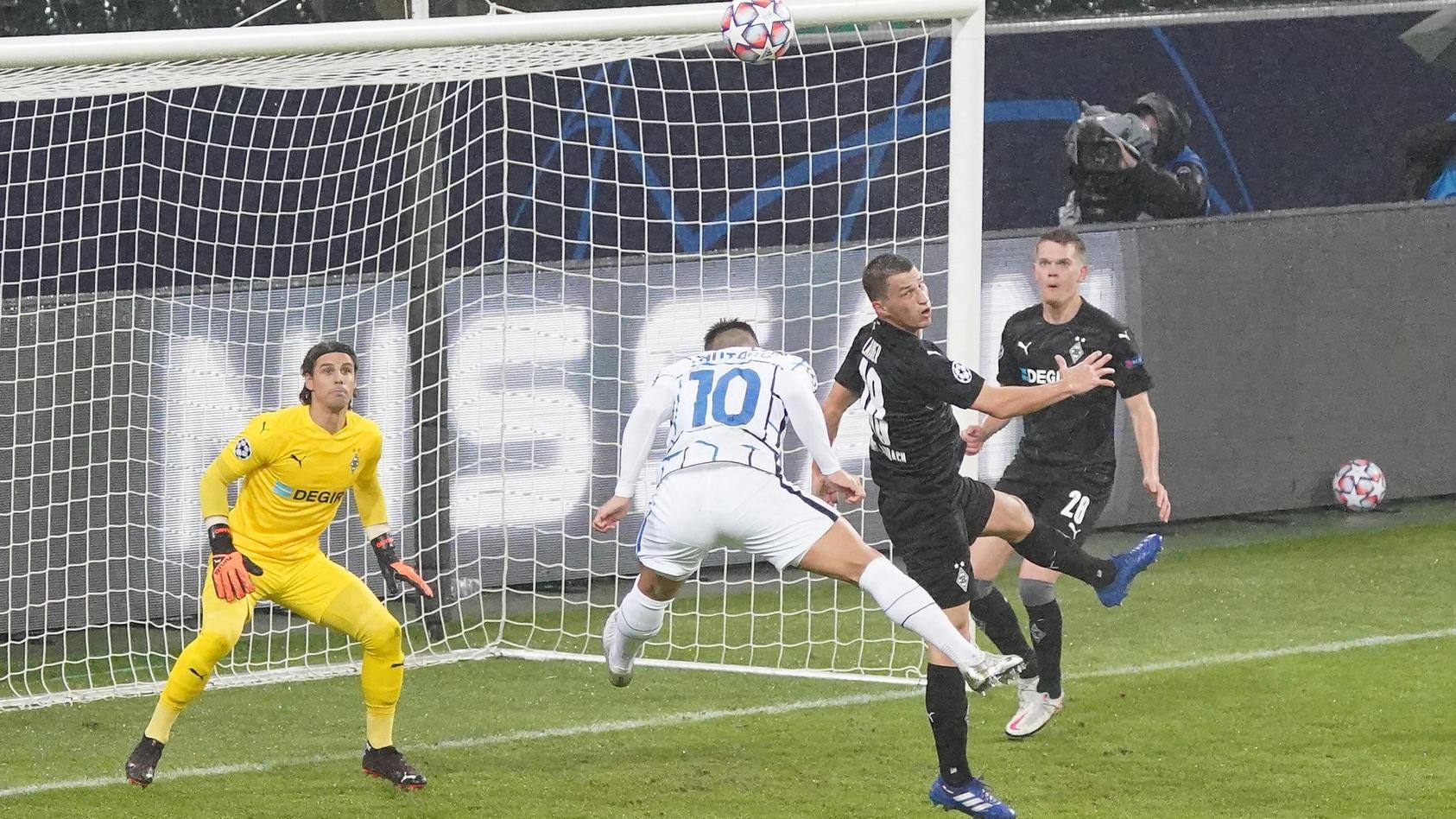 Borussia Mönchengladbach hatte gegen Inter Mailand zuhause das Nachsehen