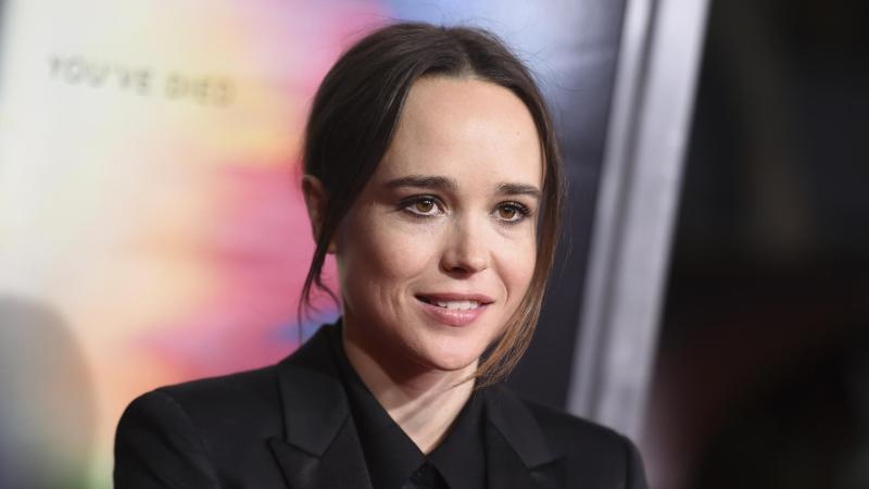 """Ellen Page 2017 bei der Weltpremiere des Films """"Flatliners"""". Foto: Richard Shotwell/Invision/AP/dpa"""