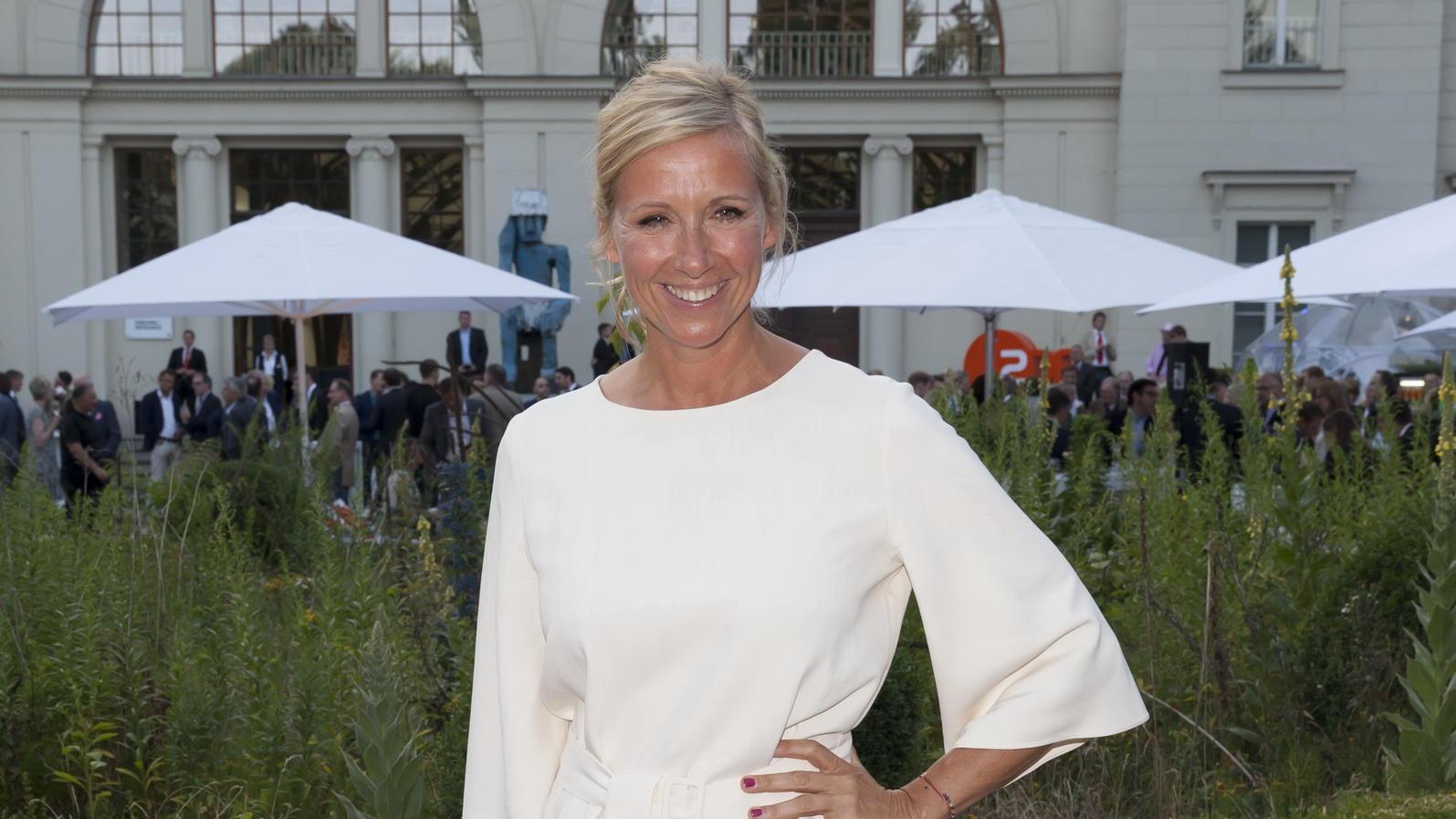 ZDF-Moderatorin Andrea Kiewel ist verliebt!