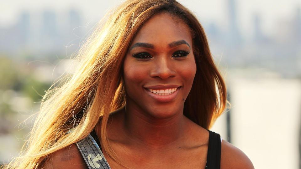 Serena Williams ist stolz auf ihre kleine Tochter.