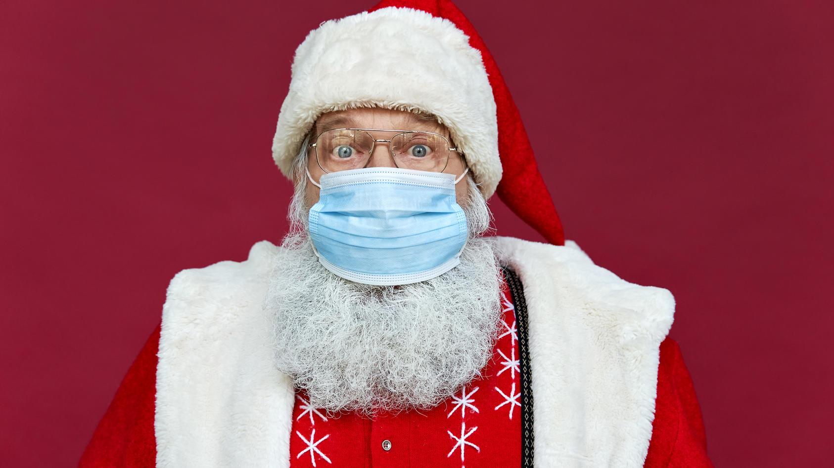 Auch der Nikolaus muss sich in diesem Jahr artig an die Corona-Maßnahmen halten.