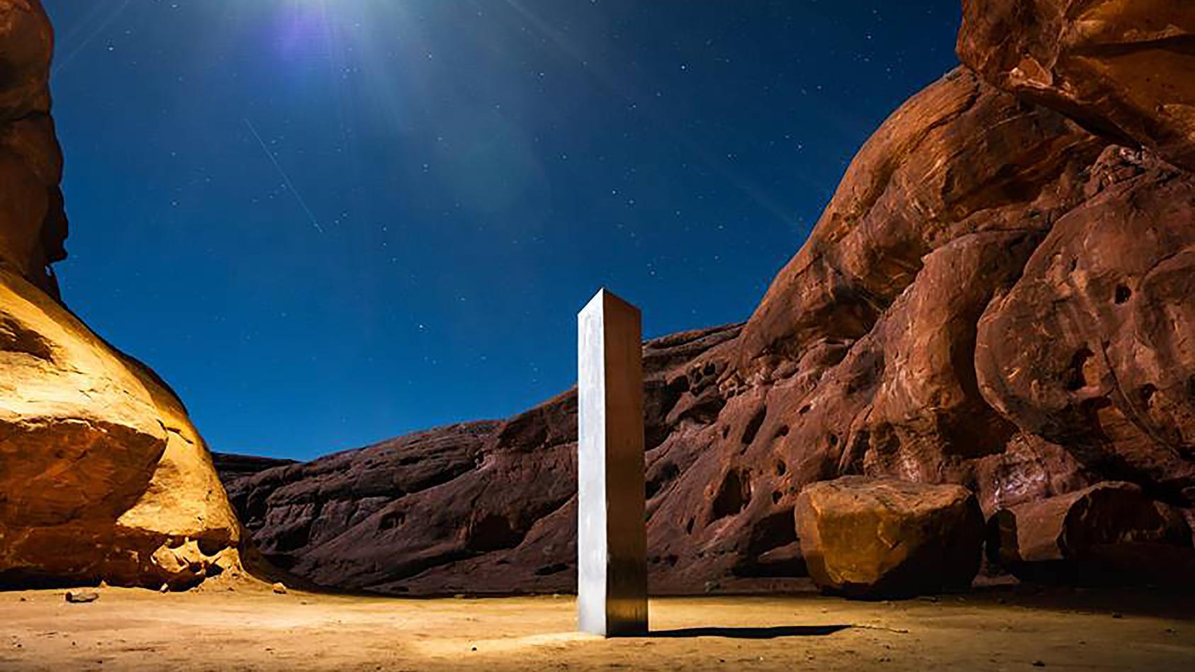 Das Rätsel um das Verschwinden des Metall-Monolithen in Utah scheint gelöst zu sein.