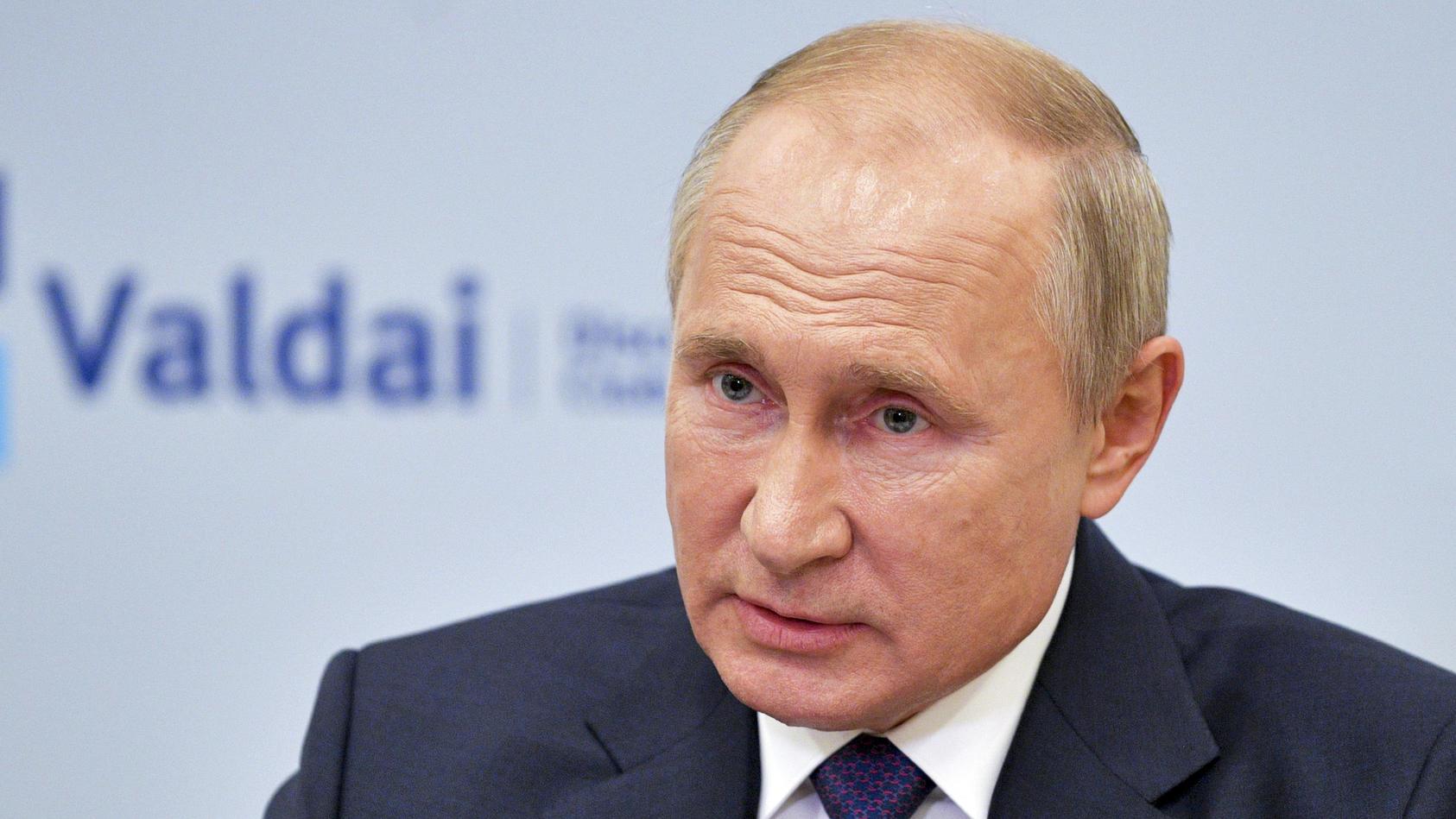 Krebs oder Lepra? Russlands Präsident Putin werden immer wieder Krankheiten zugeschrieben.