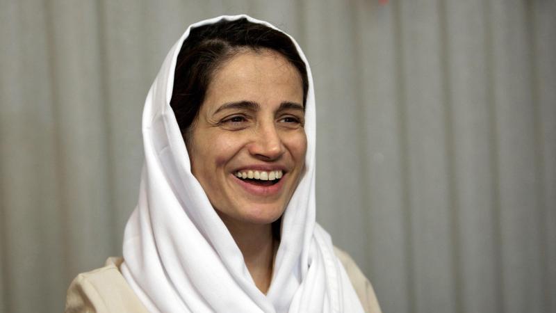 Die iranische Anwältin Nasrin Sotudeh hat sich für politische Aktivisten und für Frauen, die aus Protest gegen die iranische Gesetzeslage in der Öffentlichkeit ihre Kopftücher abgenommen hatten, eingesetzt. Foto: Behrouz Mehri/3p-afp/dpa