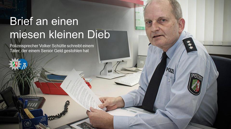 Polizeisprecher Volker Schütte