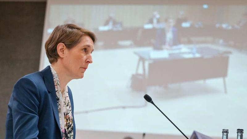 Stefanie Hinz, Polizeipräsidentin des Landes-Baden-Württemberg. Foto: Marijan Murat/dpa