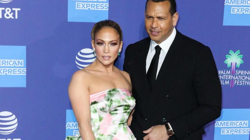 Jennifer Lopez und Alex Rodríguez