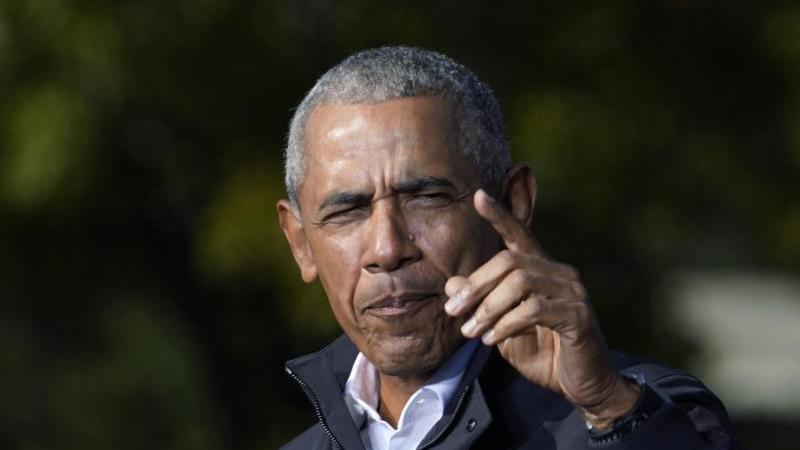 Barack Obama hat sich in die Senats-Stichwahlen in Georgia eingeschaltet. Foto: Brynn Anderson/AP/dpa/Archiv