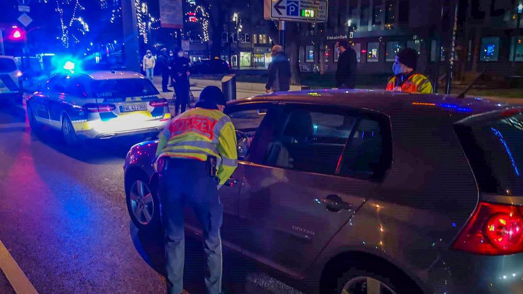 Polizeikontrollen in Mannheim