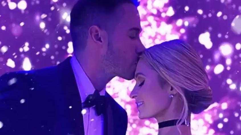 Paris Hilton mit ihrem Freund Carter Reum