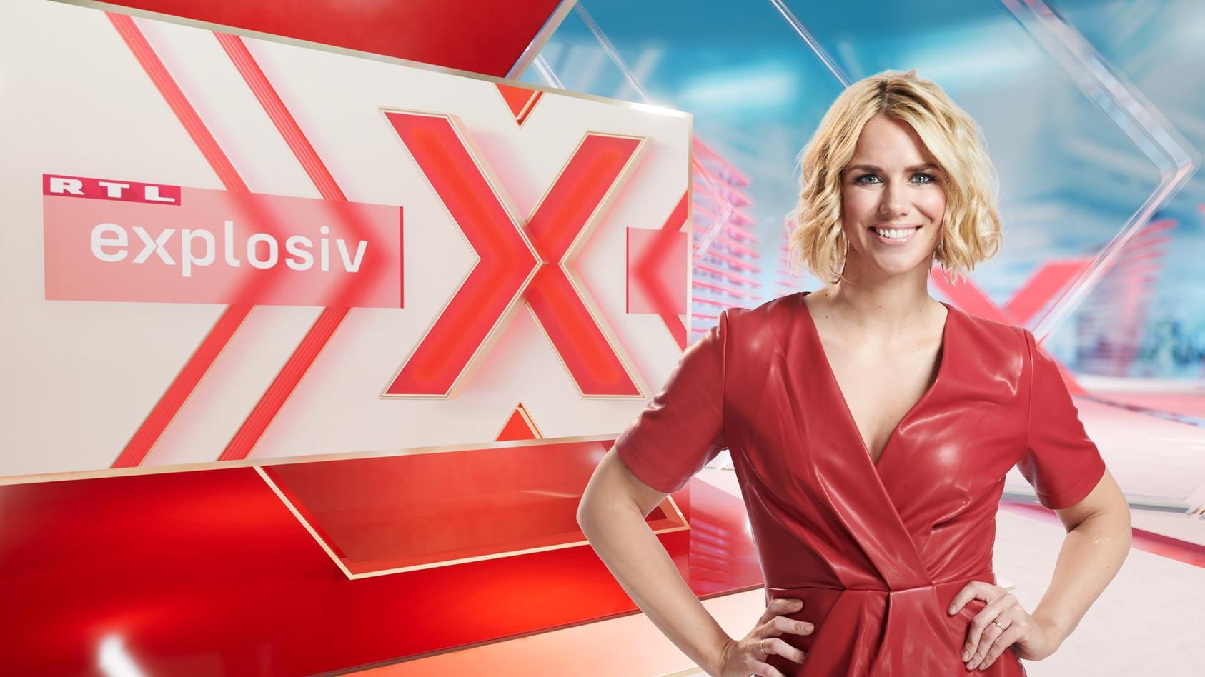 "RTL-""Explosiv""-Moderatorin Sandra Kuhn"