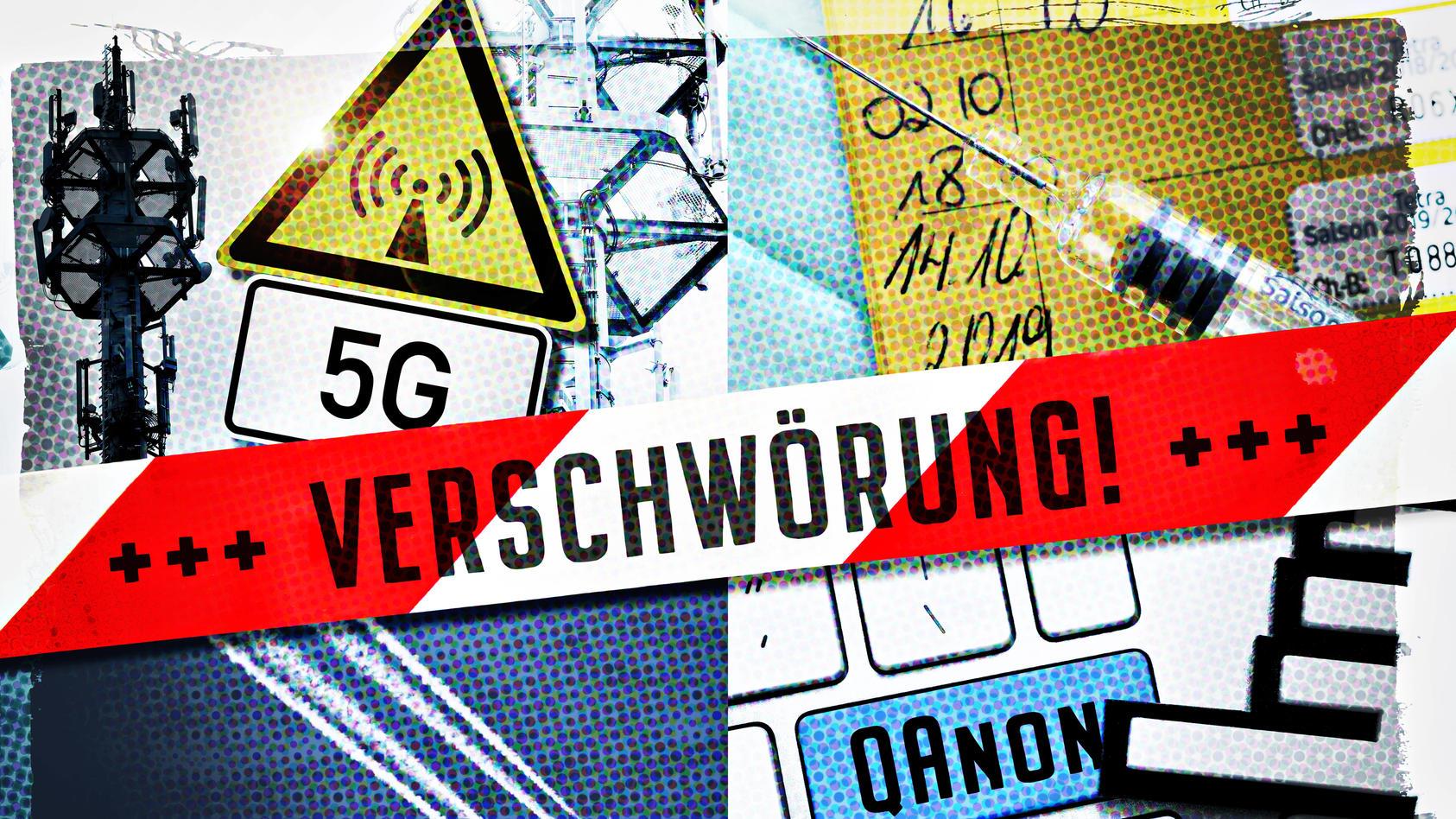 Verschwörungstheoretiker behaupten, die neue 5G-Technologie hätte das Coronavirus ausgelöst - und wollen sich vor der Strahlung schützen.