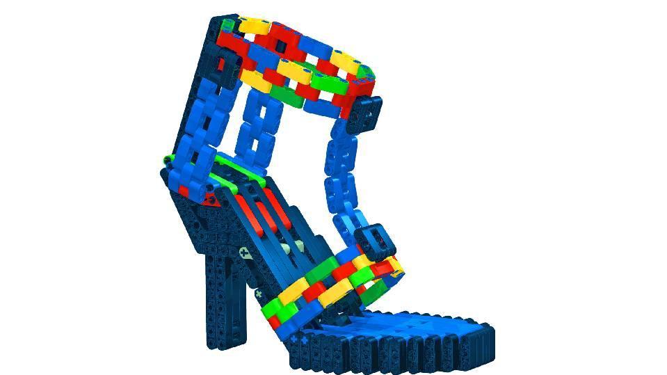 High Heels aus Lego
