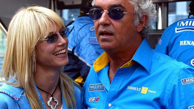 Lang ist's her: Flavio Briatore und Heidi Klum waren etwa ein Jahr zusammen.