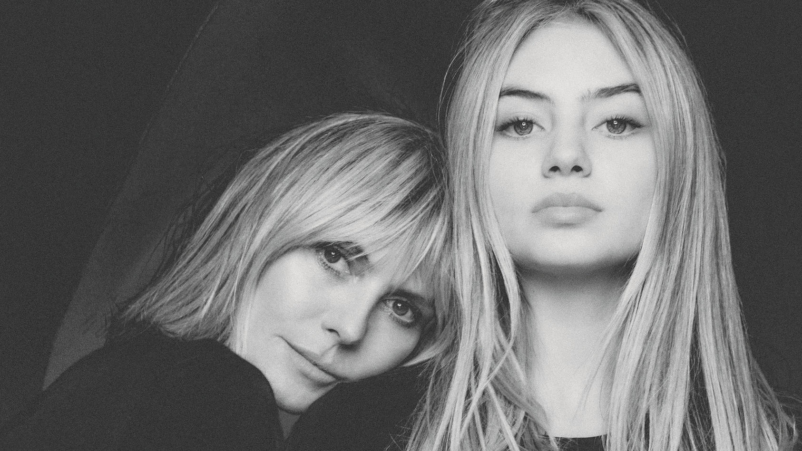 "Heidi Klums Tochter Leni in der ""Vogue"""
