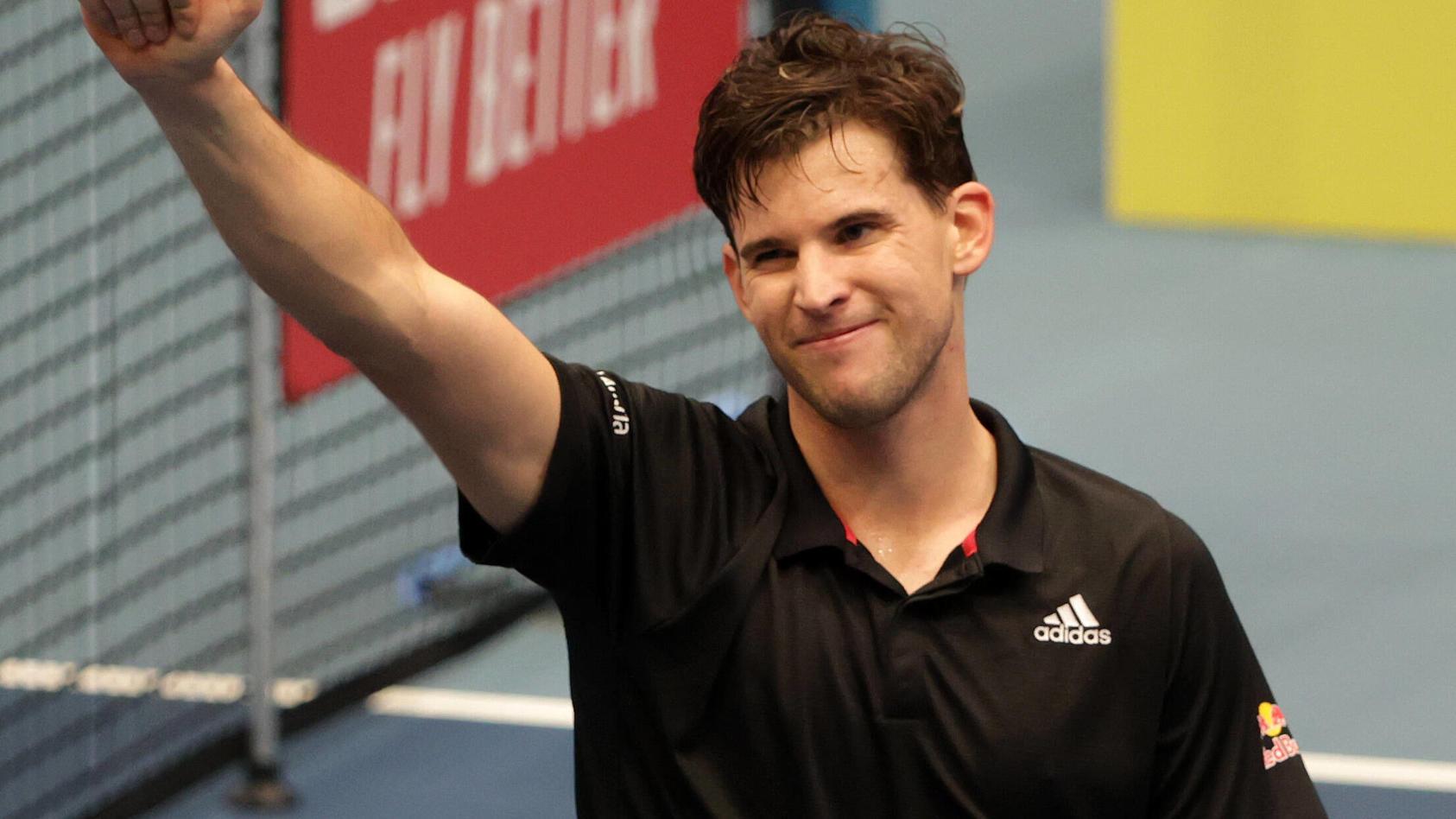 Tennis-Profi Dominic Thiem soll Lili Paul-Roncalli daten.