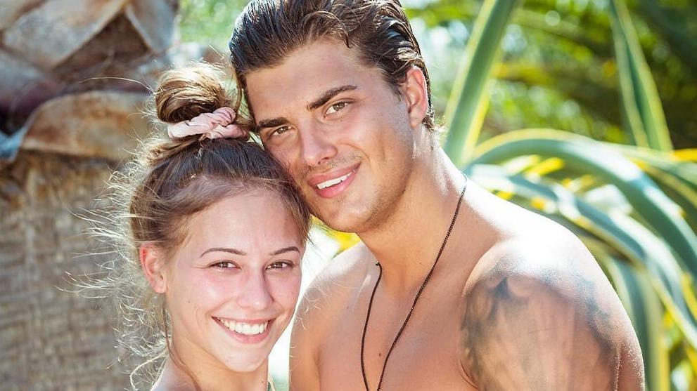 """Alles aus bei Melina und Tim: Das ehemalige """"Love Island""""-Paar trennte sich Ende 2020."""