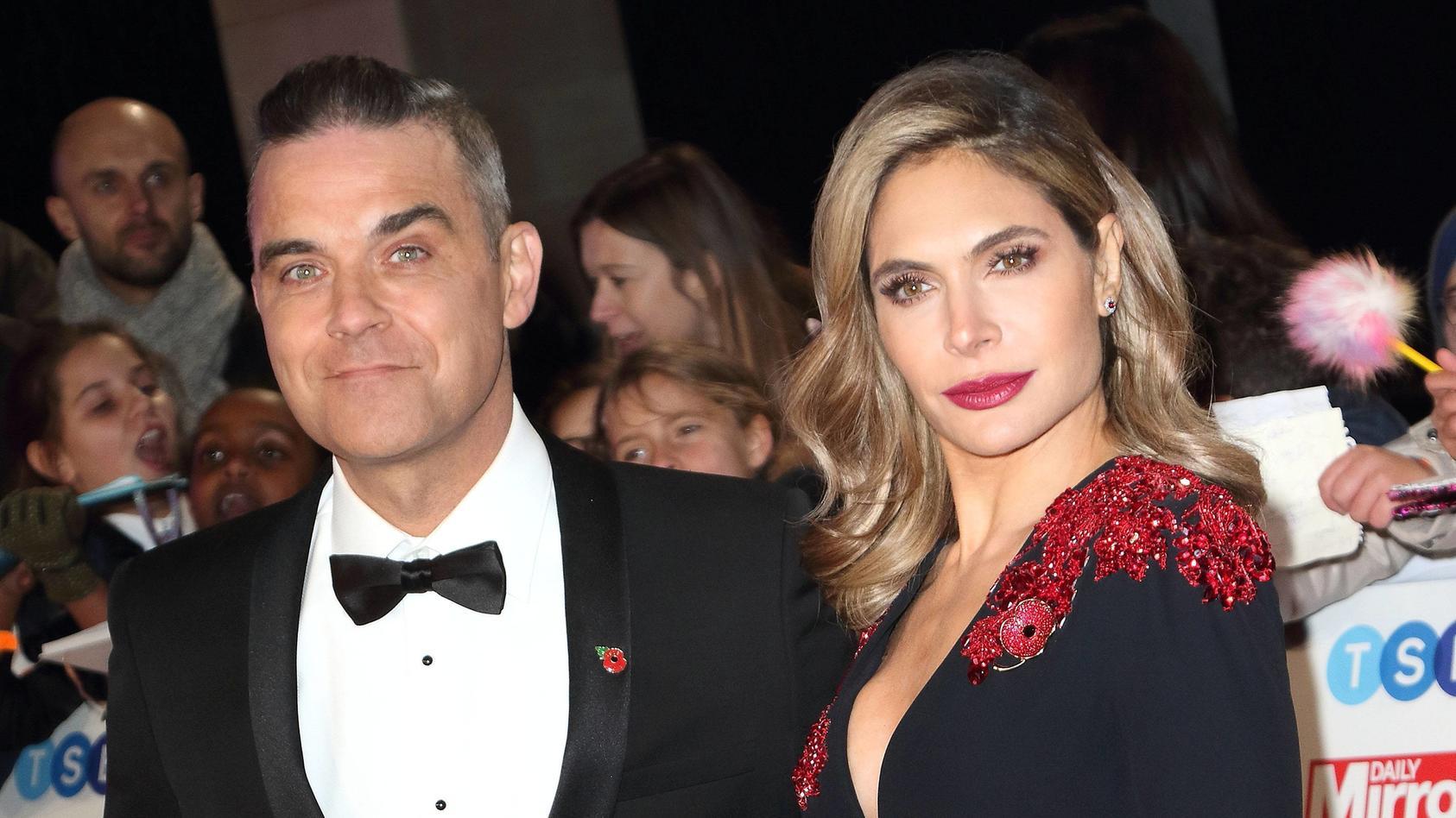 Robbie Williams und seine Ehefrau Ayda Field feiern den 1. Geburtstag von Nesthäkchen Beau.