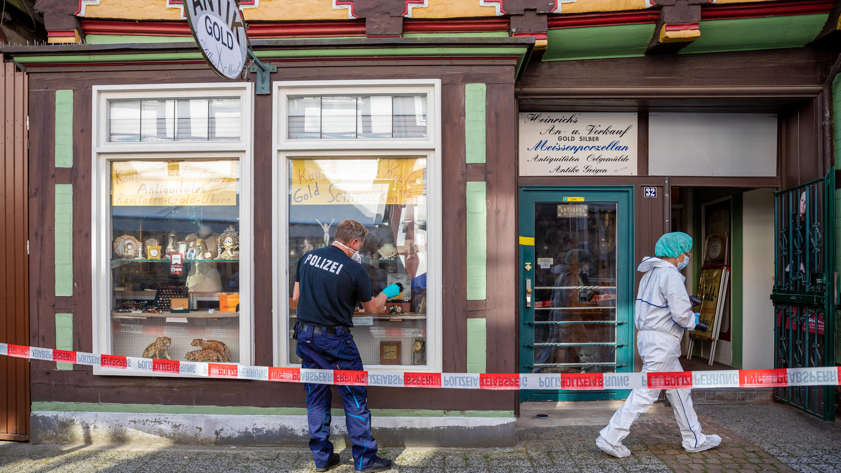 Zwei Tote bei Raubüberfall in Celle
