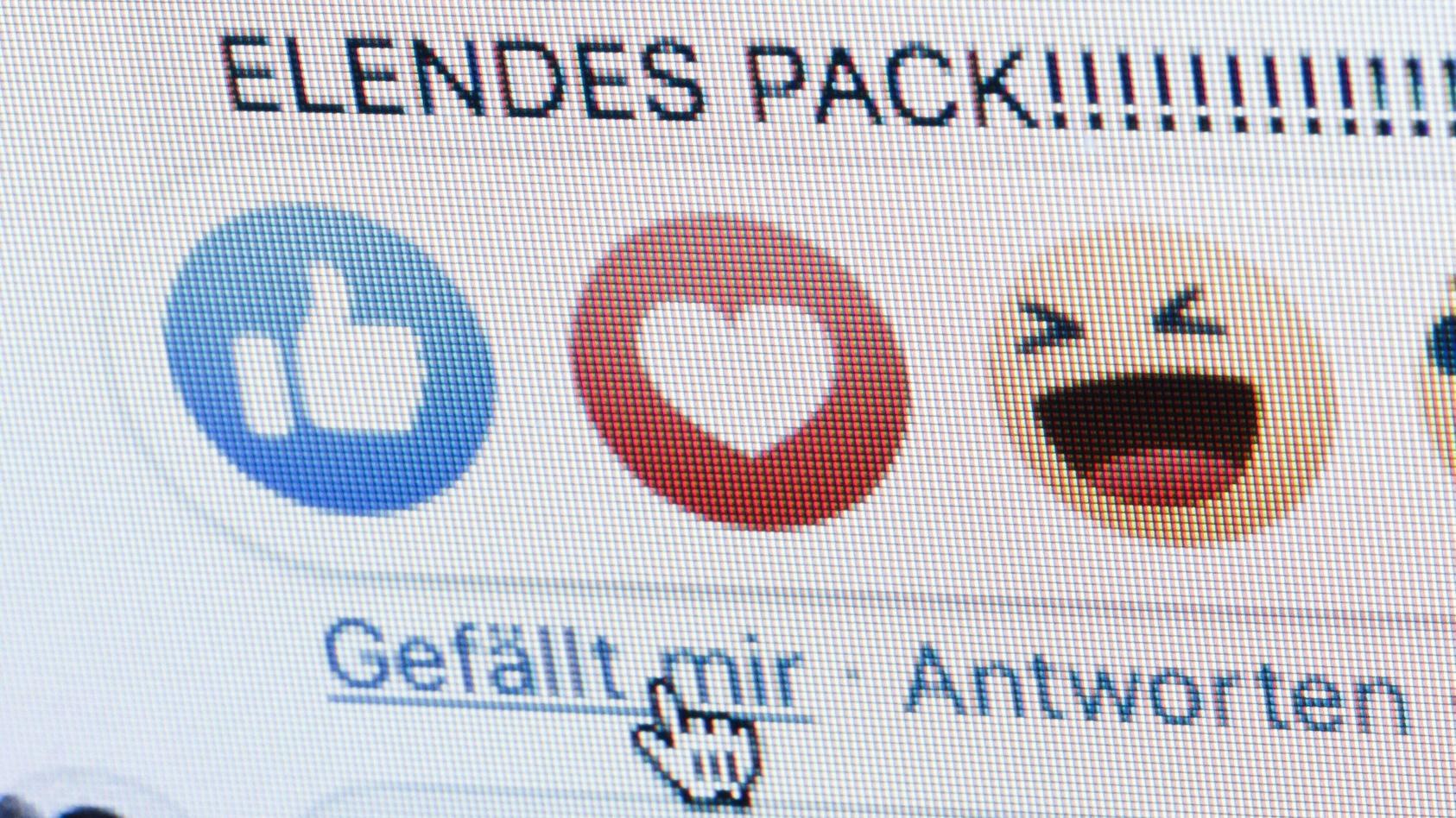 """""""Gefällt mir"""": Ist ein einfaches Like bei Facebook schon ein Grund für eine strafrechtliche Verfolgung?"""