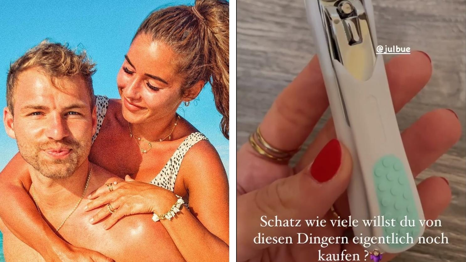 Sarah Lombardi offenbart, was ihr Partner Julian sammelt: Nagelknipser!