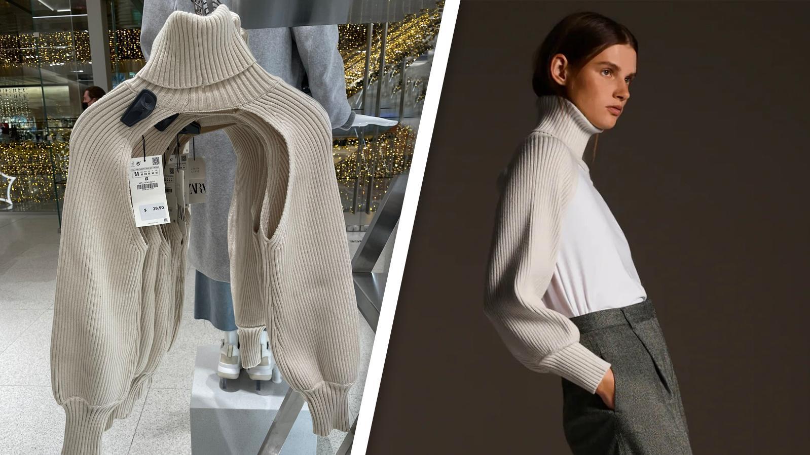 Dieses Zara-Produkt belustigt die Twitter-Gemeinde