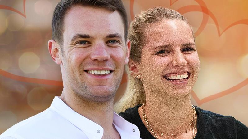 Manuel Neuer und Anika Bissel