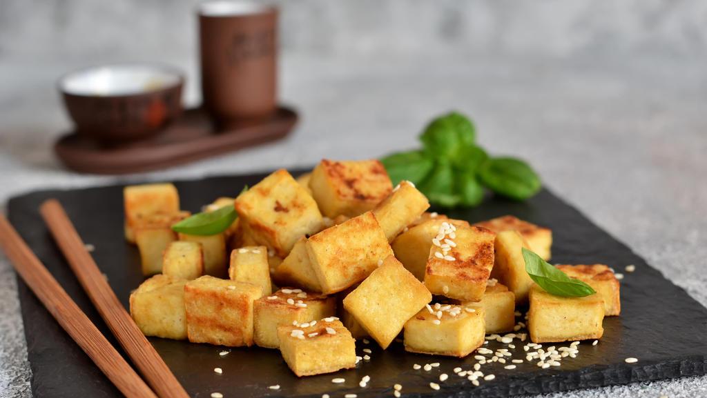 Gebratener Tofu - so schmeckt der Sojakäse Anfängern meist am besten