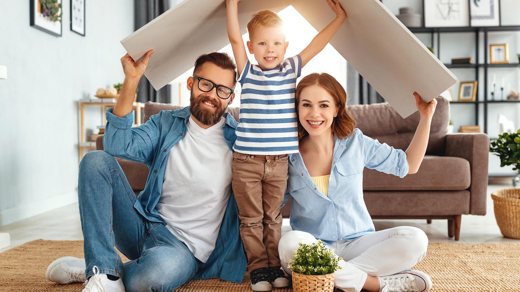 2021 gibt es einige Änderungen im Bereich Wohnen - auch für Familien.