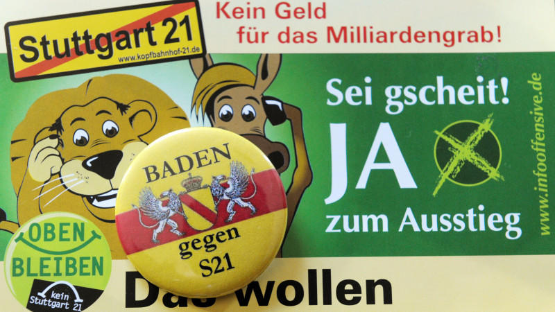 Volksabstimmung: Schicksalstag für Stuttgart 21 naht