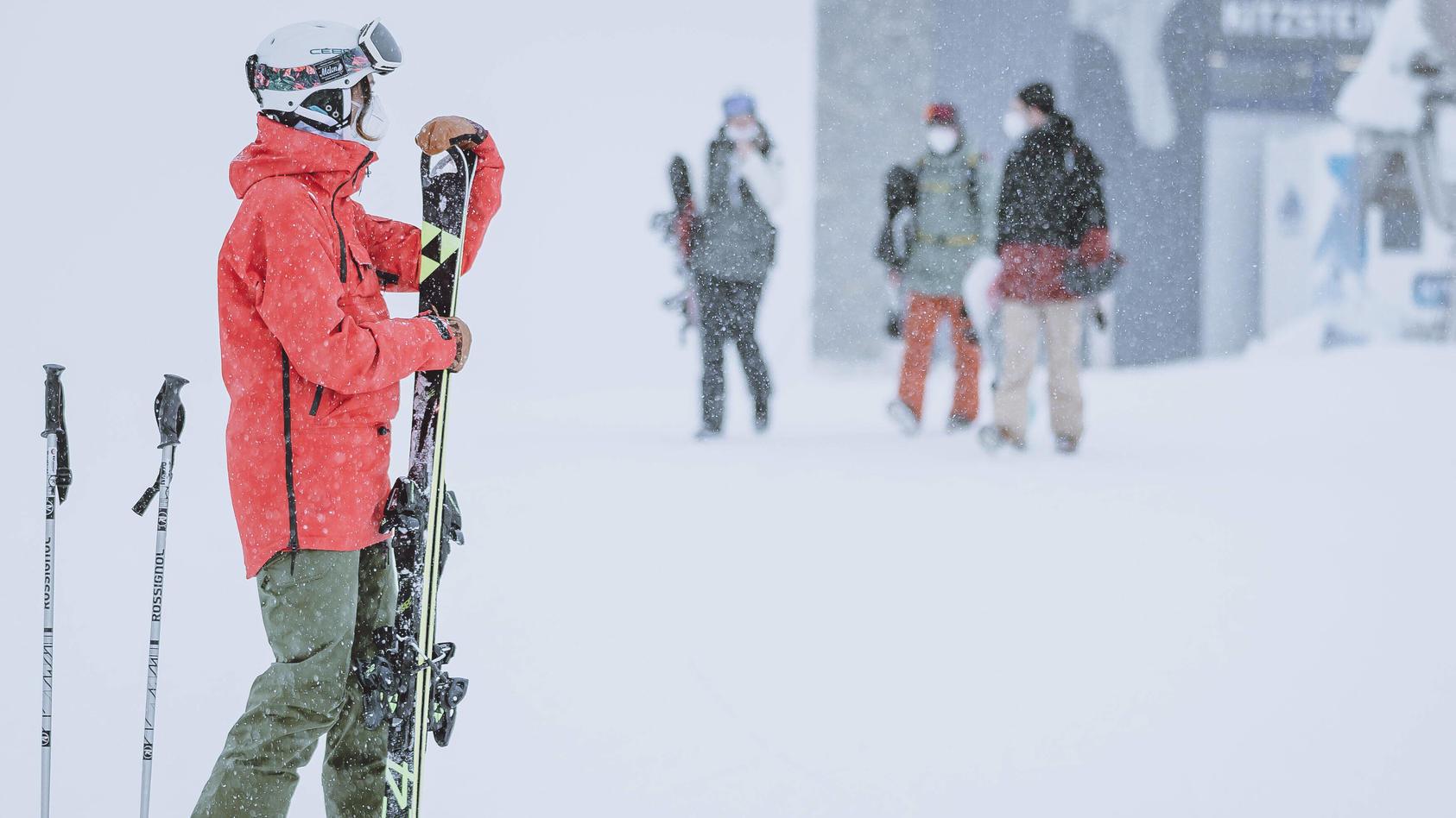 Skifahrer in Österreich (Foto: Motivbild)