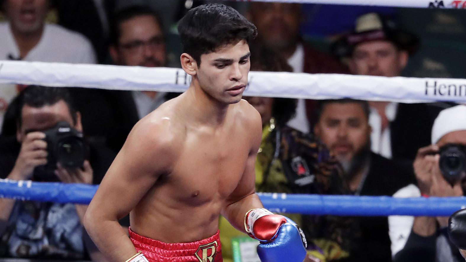 Ryan Garcia soll nach dem Willen seiner Promoter das globale Gesicht des Boxens werden