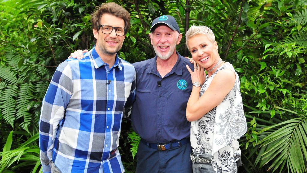 In der großen Dschungelshow sind auch Daniel Hartwich, Dr. Bob und Sonja Zietlow dabei.