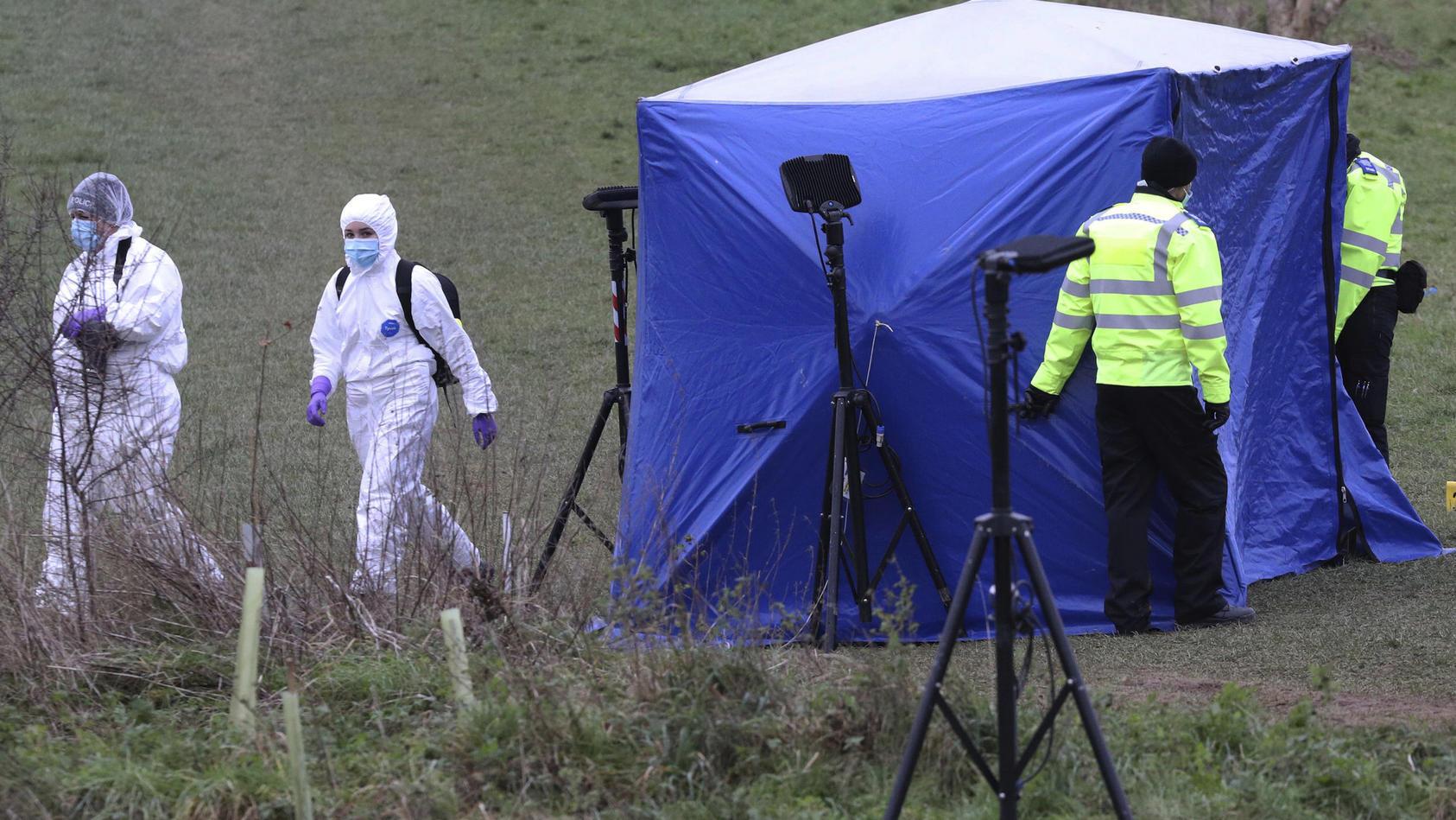 Das Verbrechen ereignete sich im Januar in einem Park in der 220.000-Einwohner-Stadt östlich von London in der Grafschaft Berkshire.